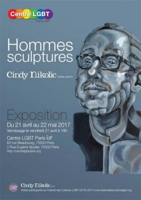 Hommes sculptures par Cindy Nikolic {JPEG}